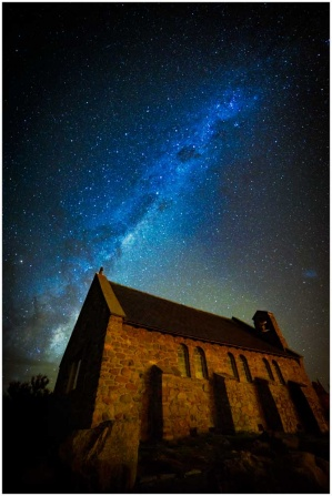 Milkyway photo at Lake Tekapo