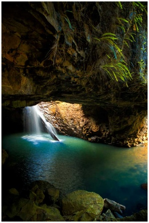 Natural Bridge Springbrook photo print