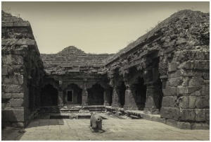 Historical temple landscape photo print