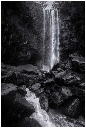 Queen Mary Falls waterfall photo print