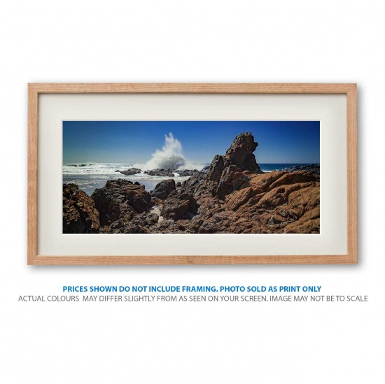 byron bay seascape photo print in a frame - display only