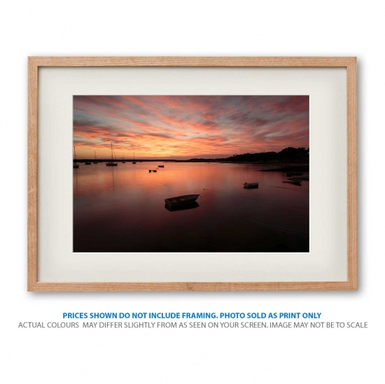 Apollo Bay Rising sunrise photo print in frame - display only