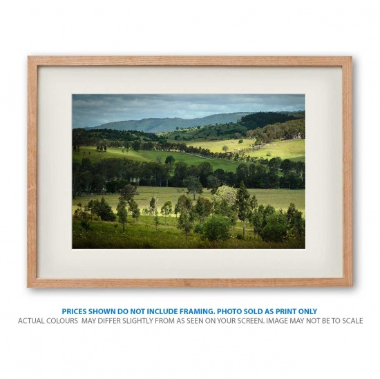 Mount Barney views photo print in frame - display only