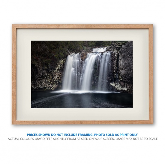 pencil pine waterfall at Cradle Mountain in frame