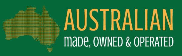 Australian made, owned and operated