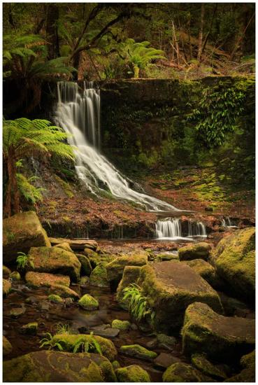Horseshoe Falls landscape photo prints
