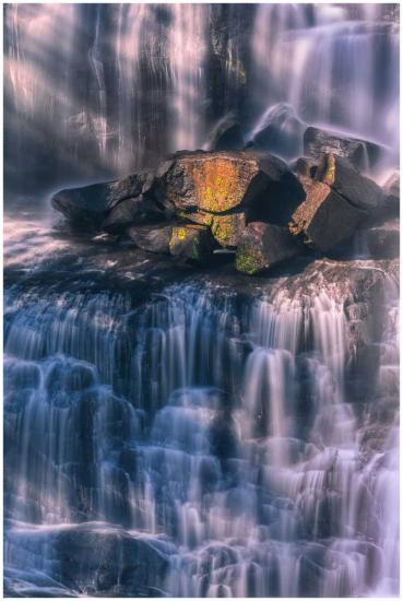 Ebor Elegance waterfall photo print