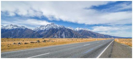 Pure New Zealand landscape photo print